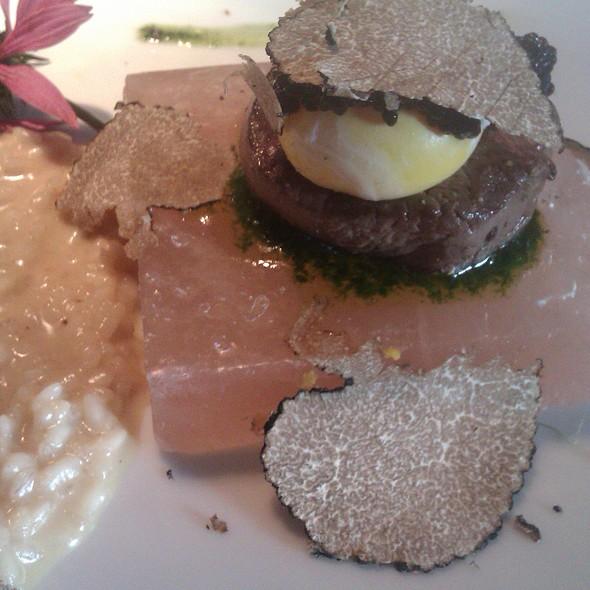 Filetto di bisonte @ Ristorante Boutique Hotel Tentazioni