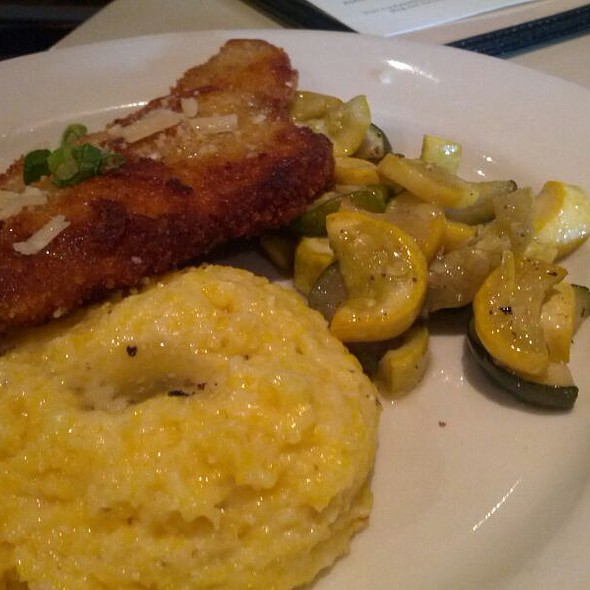 Parmesan-Crusted Pork Cutlet @ Lucky 32 Restaurant