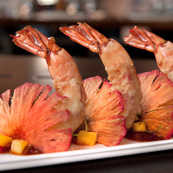 Jumbo Ruby Prawns  @ Toy NYC
