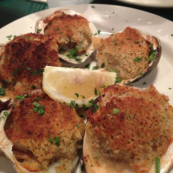 Baked Clams @ The Daily Catch