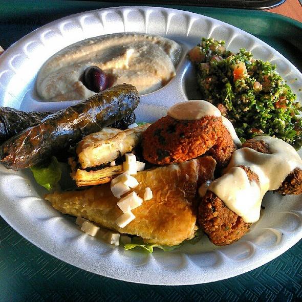 Veggie Supreme @ Greek Islands Cuisine