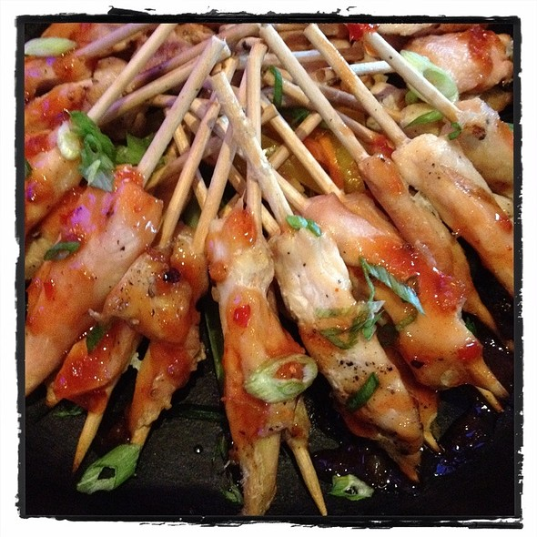 Grilled Chicken Skewers @ Aqua