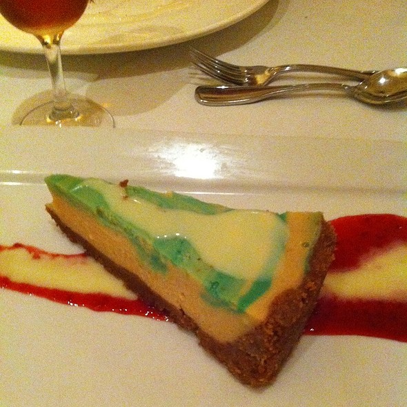 Key Lime Cheesecake - House of Tricks, Tempe, AZ