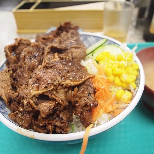 カルビ丼 @ 大勝軒神奈川新町店