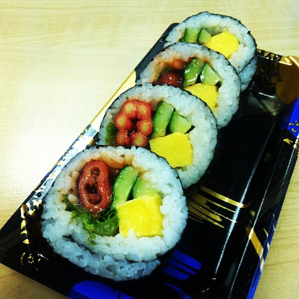 Octopus Maki Sushi @ Isetan Scotts Supermarket