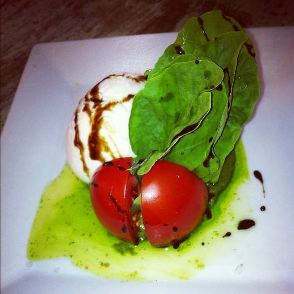 Local Tomato Buffalo Mozzarella Salad