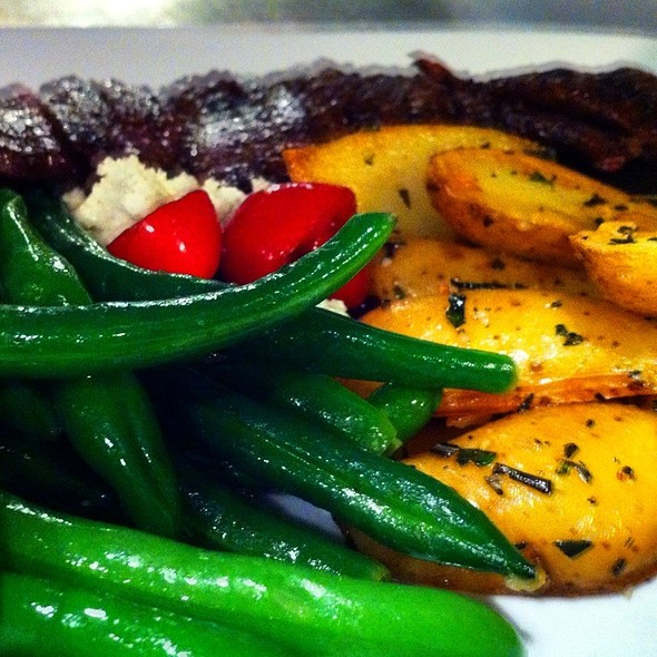 Dry Aged Marinated Skirt Steak Entree  @ Whisk Gourmet Foods & Catering