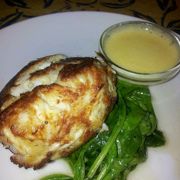 Crabcake With Safron Butter - Isabella's - Frederick, Frederick, MD