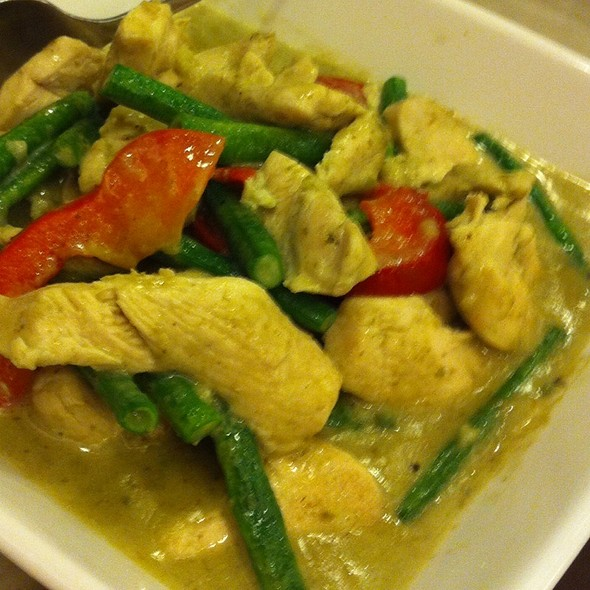 Chicken And Green Curry @ Siam By Krua Thai