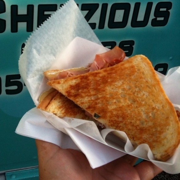Grilled Brie And Prosciutto @ Ms. Cheezious