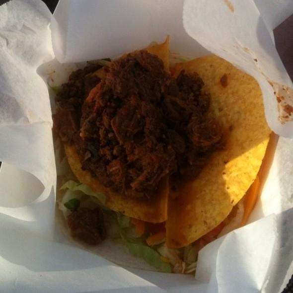Bbq Pork Taco @ BC Taco Truck