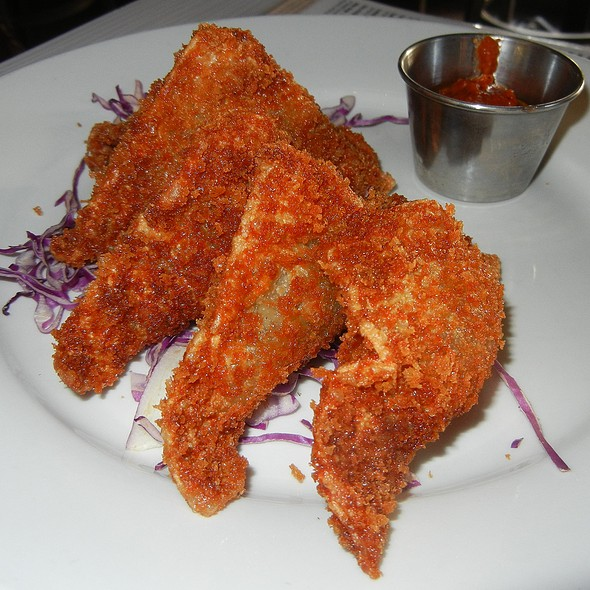 Fried Sausage Ravioli @ Bliss / rebar