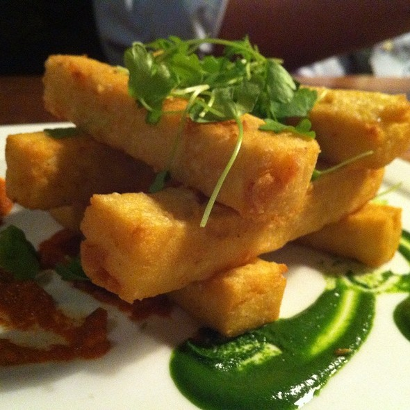 Chickpea fries - edison: food+drink lab, Tampa, FL