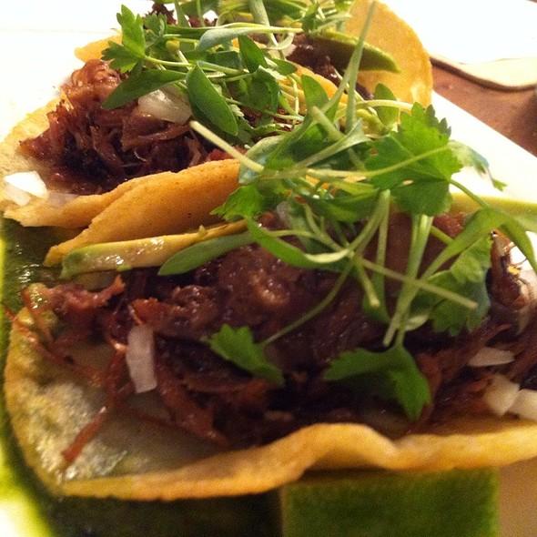 Duck Confit Foie Gras Tacos - edison: food+drink lab, Tampa, FL