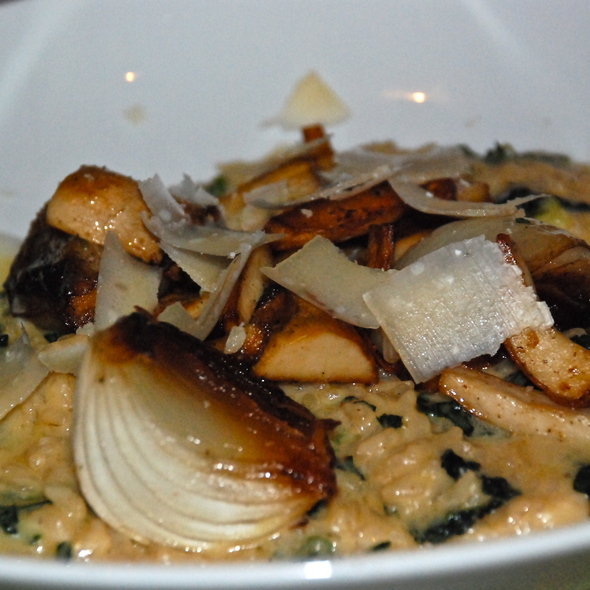 Chanterelle Mushroom Risotto @ Spring Hill Restaurant & Bar