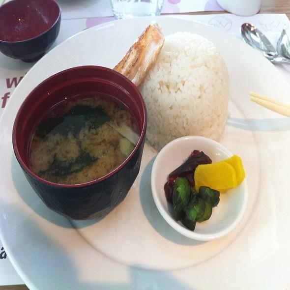 Traditional Japanese Breakfast @ Wagamama Heathrow T5