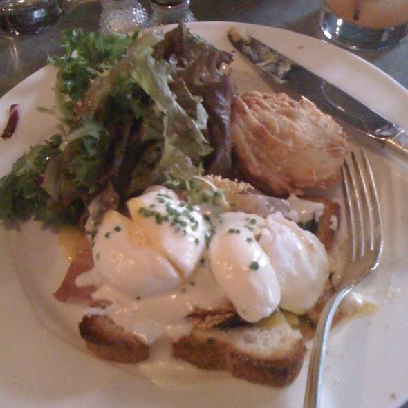 Poached Eggs @ Rye
