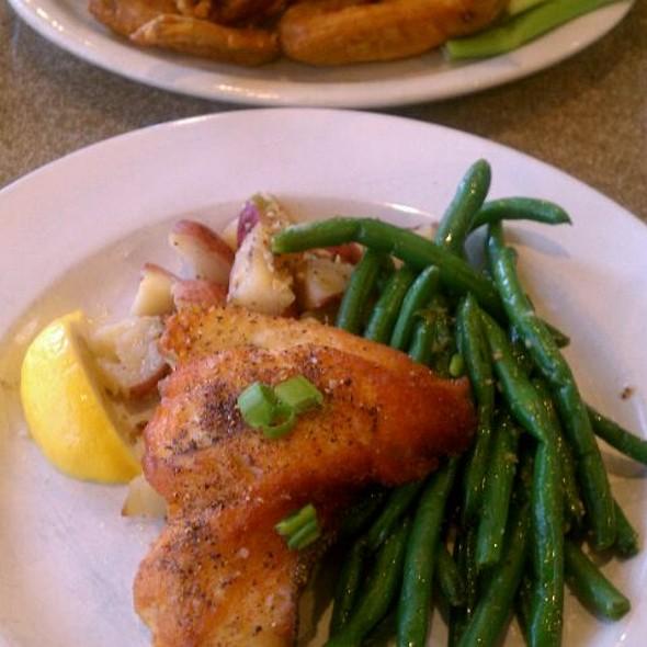 Baked Flounder @ A W Schuck's