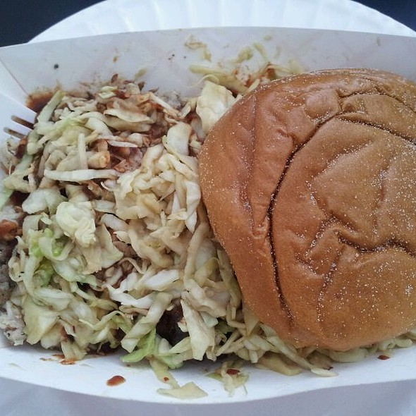 Pulled Pork Sandwich @ Carnivore BBQ Truck