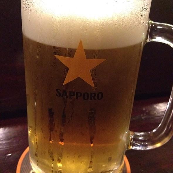 Sapporo on draft