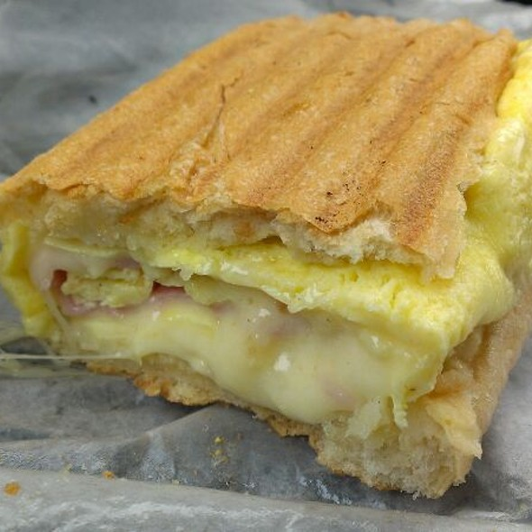Ham, Egg And Cheese Sandwich @ El Cubanito