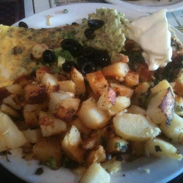 Florentine Omelete @ Omelette Inn