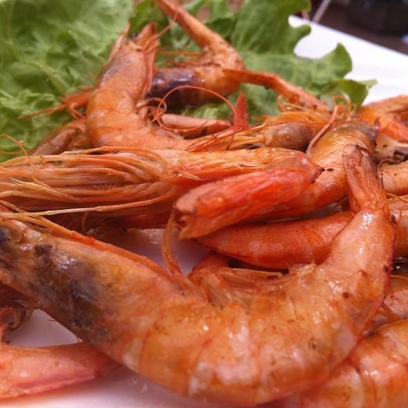 Pan Fried Shrimp