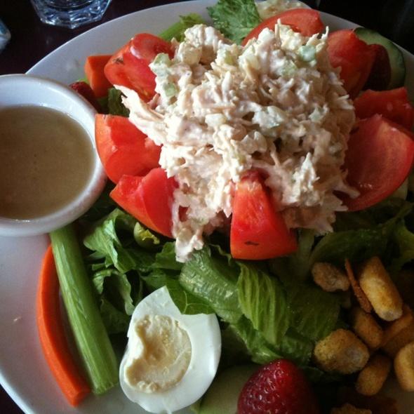 Stuffed Tomato And Chicken Salad @ Stacks
