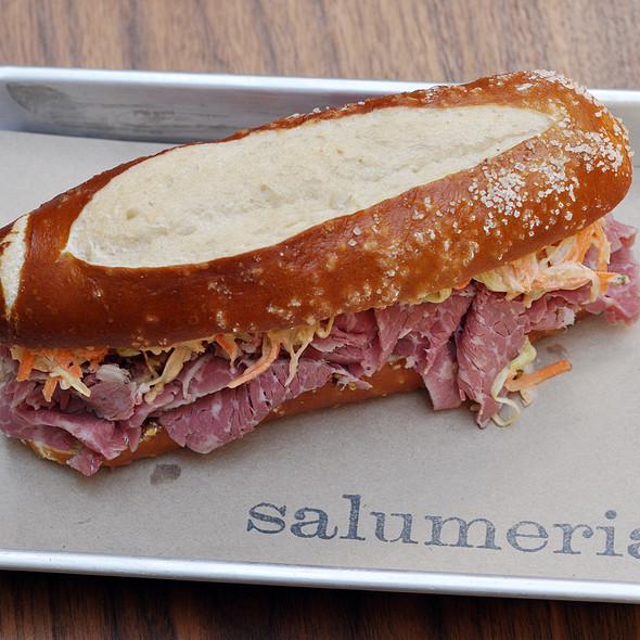 Prosciutto Sandwich @ Salumeria