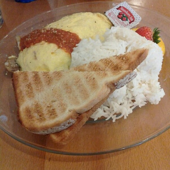 Italian Omelette @ Cafe Kaila