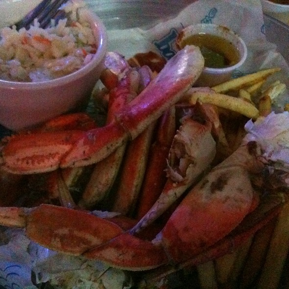 Dungeness Crab Legs @ Twisted Fisherman