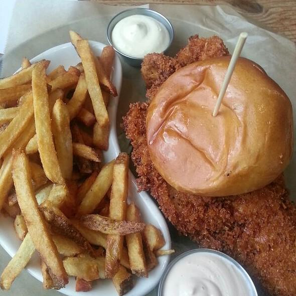 Panko Fried Turkey Schnitzel @ Leon's Full Service