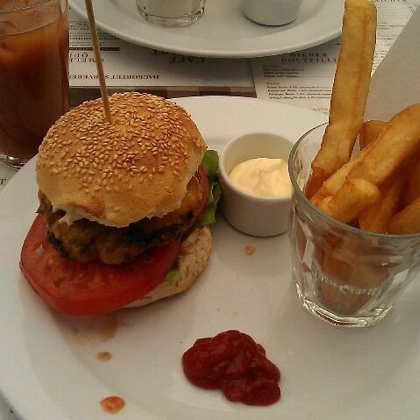 Cheese Burger @ Cafe Skt Gertruds