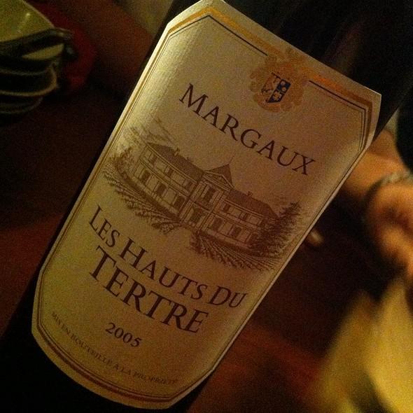 Margaux Les Hauts Du Tertre 2005