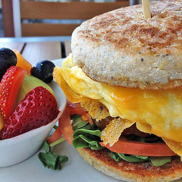 Breakfast Sandwich @ Lyfe Kitchen