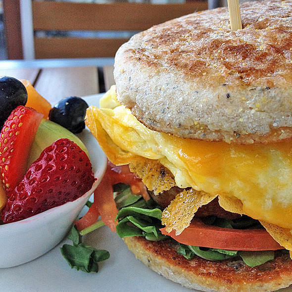 Breakfast Sandwich @ Lyfe Kitchen
