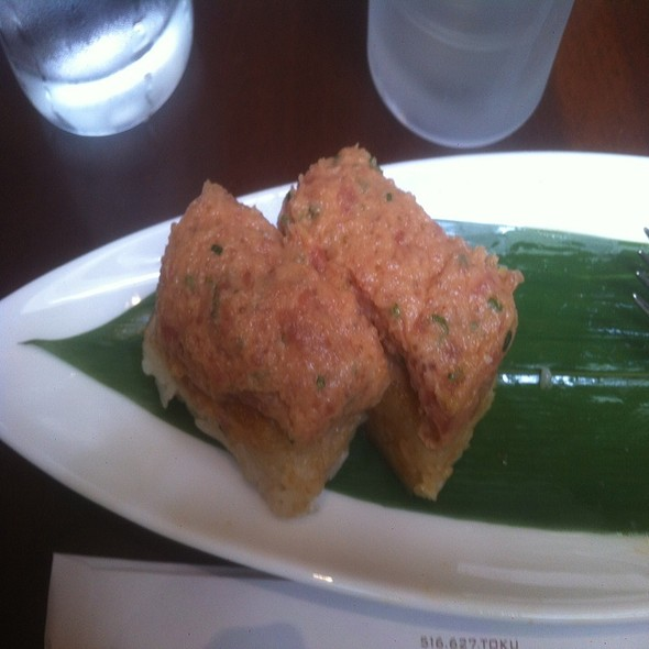 Crispy Rice with Spicy Tuna @ Toku