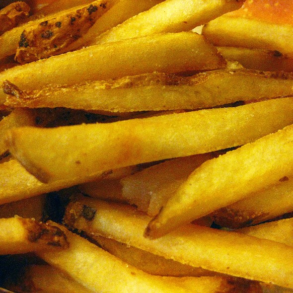 Natural-Cut French Fries @ Wendy's