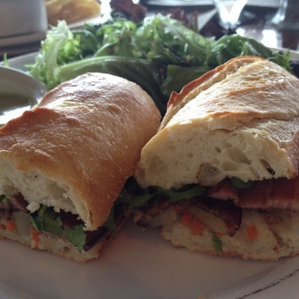 Banh Mi Sandwich  - Safari Room Restaurant, Newport, RI