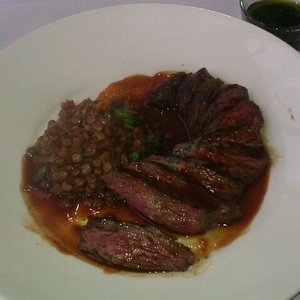 Grilled Hanger Steak - Bistro St. Tropez, Philadelphia, PA