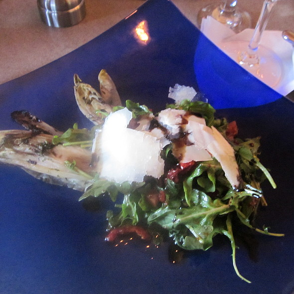 Arugula salad with grilled endive and shaved parmesan  - The View at Morgan Hill, Easton, PA