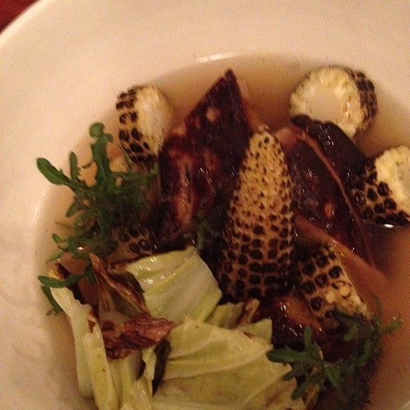 Foie Gras With Grilled Corn @ Le Dauphin
