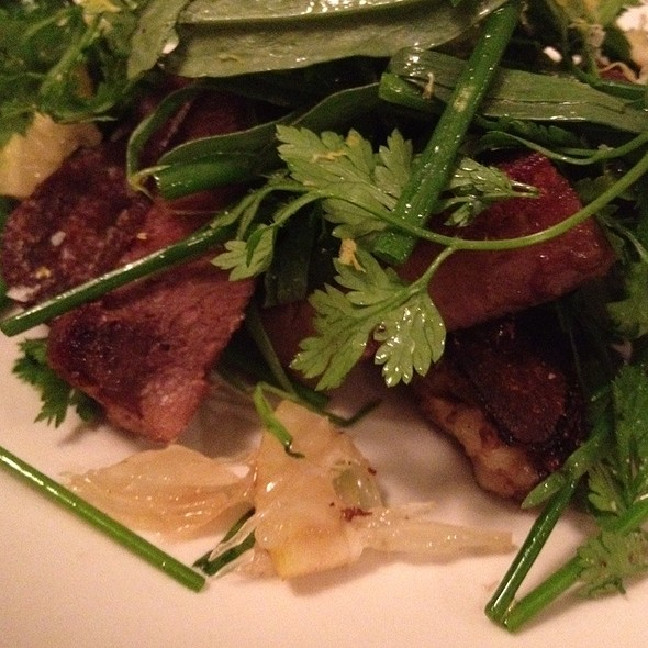 Wagyu Beef On Salad @ Le Dauphin