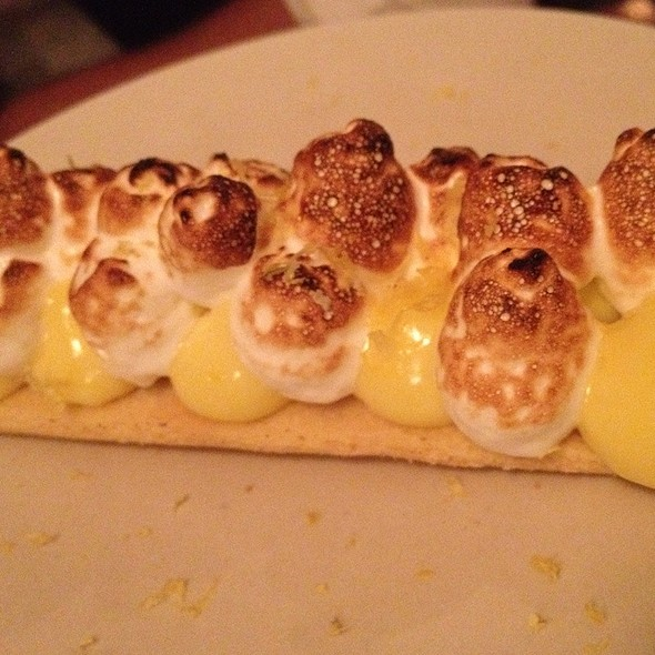 Tarte au Citron / Lemon Tart @ Le Dauphin