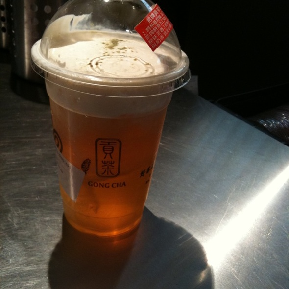 Milk Tea @ Gong Cha