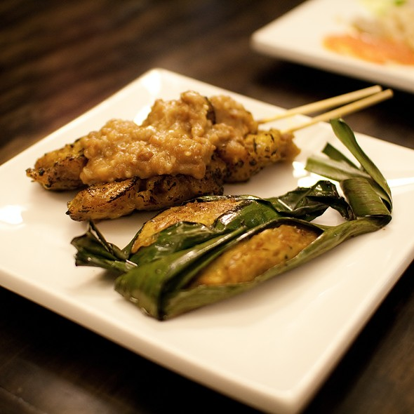 Sate Ayam & Otak Otak @ Jackie M Malaysian Cuisine