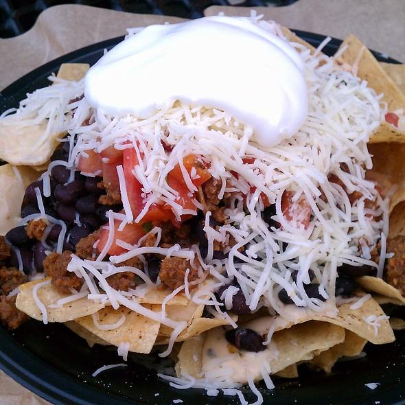 Seasoned Ground Beef Nachos @ Qdoba Mexican Grill
