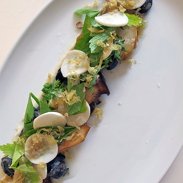 king mushroom salad @ Hotel Herman