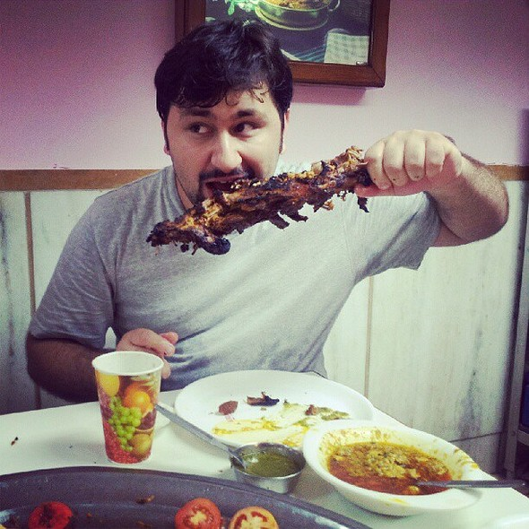 Esh(ra)an :p @ Karim's