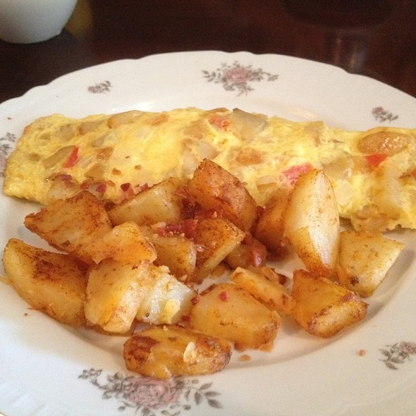 spanish omelette for brunch